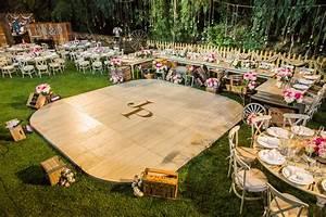 how to ken wingard39s diy dance floor paige jason39s With how to make an outdoor wedding dance floor