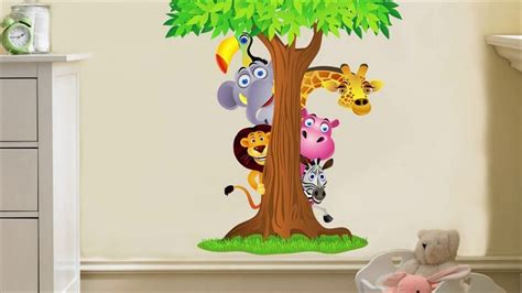 Removable Wall Stickers For Kids Bedrooms-youtube