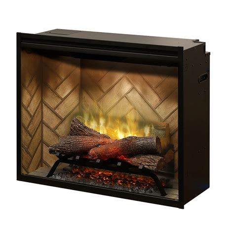 built in electric fireplace dimplex 30 inch revillusion built in electric fireplace