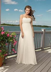 the advantages of flowing beach wedding dresses sang maestro With flowing beach wedding dresses