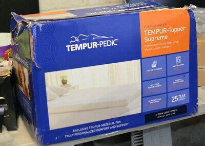 tempur pedic tempur proform supreme   twin xl