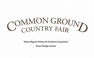Poster contest for the 2018 Common Ground Country Fair ...