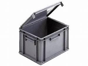 Bac Plastique Avec Couvercle : bac de rangement plastique avec couvercle pas cher ~ Edinachiropracticcenter.com Idées de Décoration