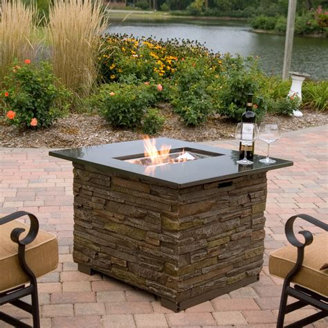 fire pit table sale florence gas fire pit table with cover at hayneedle