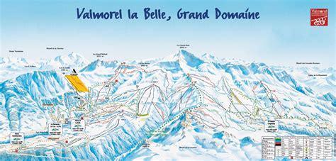chambre d hote 16 plan des pistes de valmorel guide des stations ski flv fr