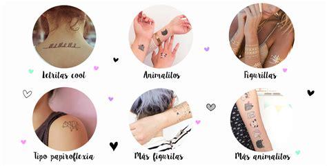 fascinan los tatuajes temporales yuya