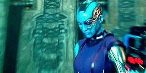 Karen Gillan as Nebula (GIF) | Marvel Filmverse | Pinterest