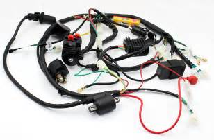 Gy6 200cc Atv Wiring by Buggy Wiring Harness Loom Gy6 150cc Electric Start