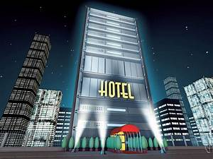 Cartoon Hotel - hotelroomsearch.net