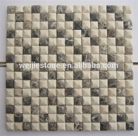machine cut marble faux tile wall panel mosaic buy faux