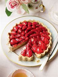 French Strawberry Tart Dessert