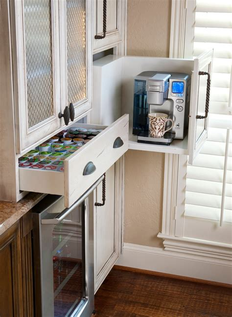 bright keurig  cup holder  kitchen traditional  pot