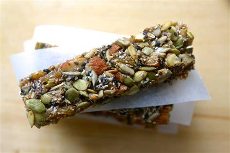 Healthy Seed Bar nut and seed bars teachers4health