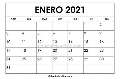 calendario  enero  imprimir  calendar