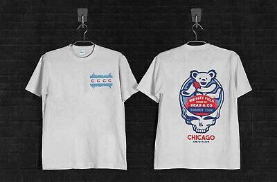 Vintage Dead And & Company Tour 2019 T Shirt CHICAGO ...