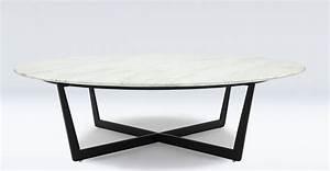 Table Basse Marbre Design Table Basse Ronde Design En Marbre Blanc