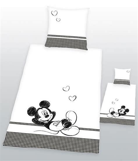 dekbedovertrek  side  side minnie mickey mouse