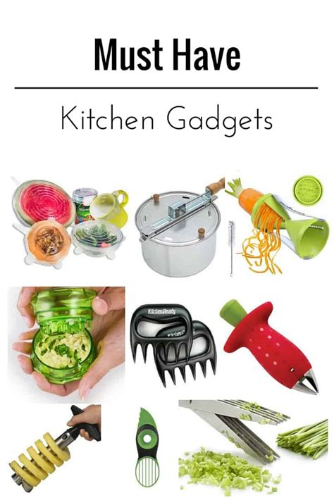 Kitchen Gadgets Everyone Should Have  Diycandycom