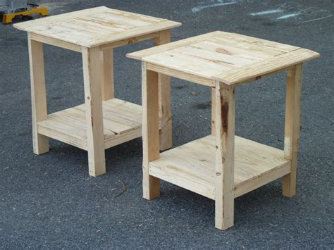 tryed side table  shelf    home projects