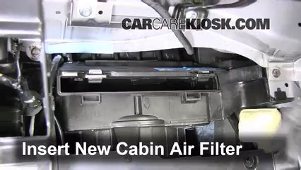 chevrolet captiva sport cabin air filter check