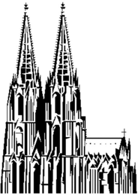 gotische kirche ausmalbild malvorlage objekte