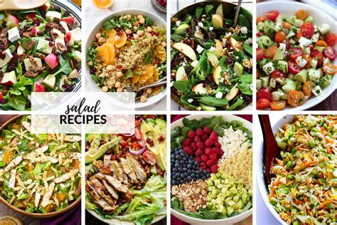 simple salad recipes  idea room