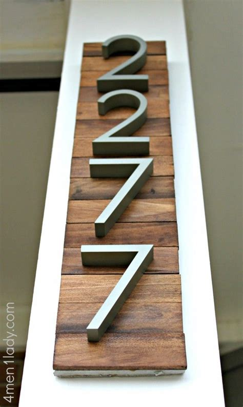 modern white wall mounted mailbox house numbers on mosaic tiles curb appeal and