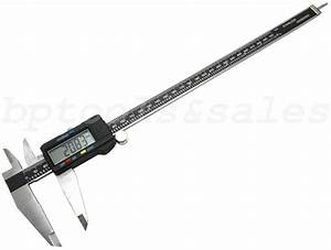 12 U0026quot  Electronic Digital Caliper Precision Stainless Inch