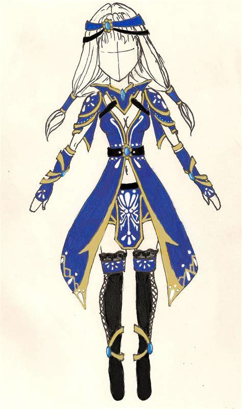 Female Warrior Costume Design by KrystalTrinity on DeviantArt