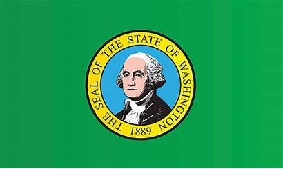 Washington State Flag Vector Clip Illustrations