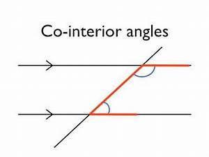 Angles in parallel lines- co-interior angles - YouTube ...