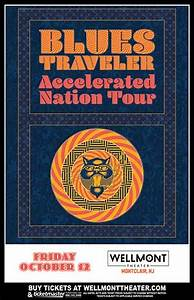 Blues Traveler The Wellmont Theater