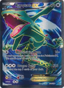 rayquaza ex roaring skies full art pokemon tcg