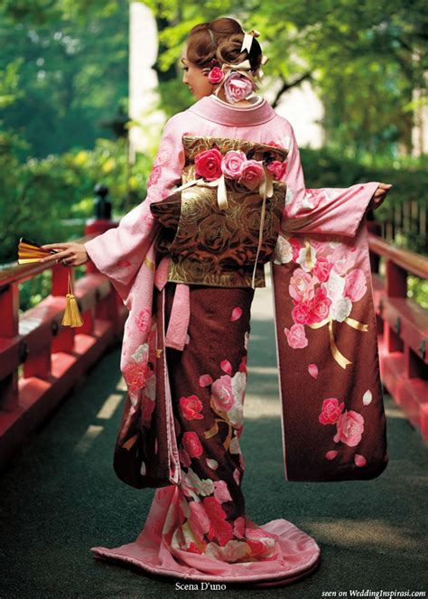 Traditional Japanese Wedding Kimono by Scena D Uno Japanese Wedding Kimono Wedding Inspirasi