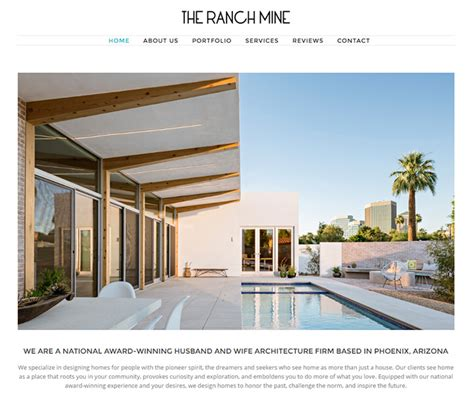 architect website designs  inspiration