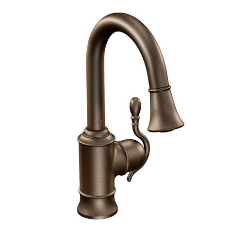 restaurant kitchen faucets moen woodmere single handle bar faucet featuring reflex in