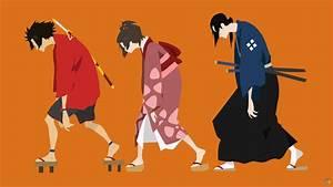 Mugen,Fuu,Jin (Samurai Champloo) - Minimalist by ...
