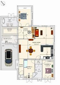 aide pour deco sejour salon cuisine With idee d amenagement de jardin 8 vues 3d de la cuisine album photos la construction de