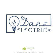electrician logo design images identity design