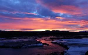 Download, Wallpaper, 3840x2400, River, Sunset, Twilight, Landscape, Dark, 4k, Ultra, Hd, 16, 10, Hd