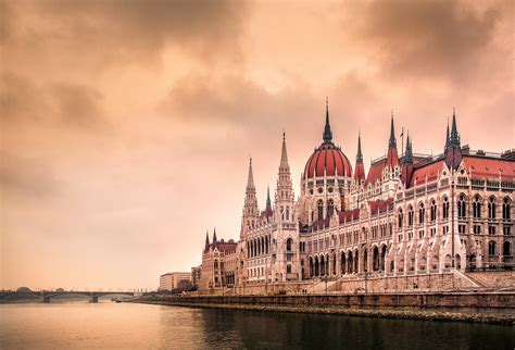 Building Budapest Hungary Hungarian Parliament Building