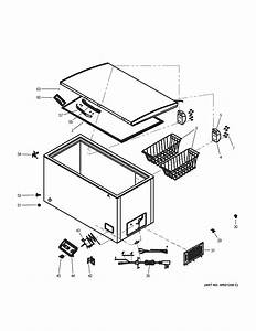 Haier Hfc9204acw Chest Freezer Parts