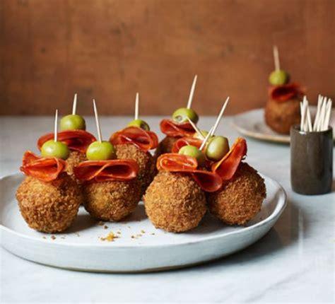 paella arancini bites recipe bbc good food