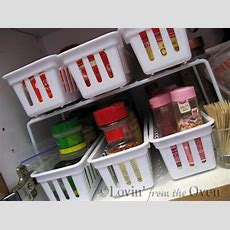 Frieda Loves Bread Kitchen Tip Organizing Spices