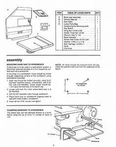 Page 7 Of Sears Saw 113 244501 User Guide