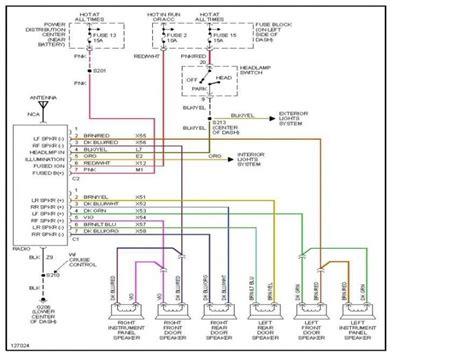 Dodge Ram Radio Wiring Diagram Forums