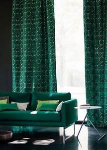Rideaux Vert Sapin : rideau vert sapin ~ Teatrodelosmanantiales.com Idées de Décoration
