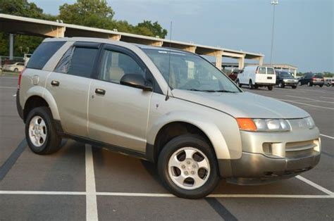 how petrol cars work 2002 saturn vue navigation system find used 2002 gold saturn vue 2 2l suv 5 speed manual moon roof pwr windows new stereo in
