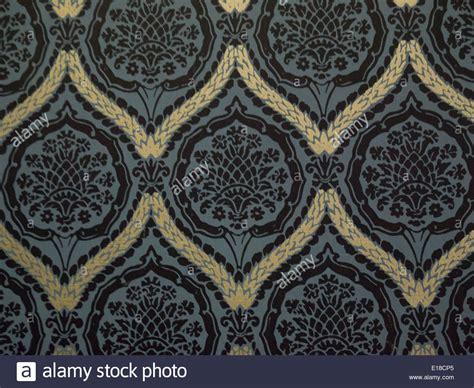 Tapete Schwarz Muster by Blaue Tapete Mit Muster
