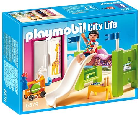 Cuisine Playmobil - playmobil city childrens room with loft bed and slide
